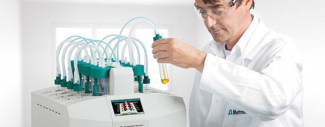 Determinação da estabilidade de oxidação do óleo de motor