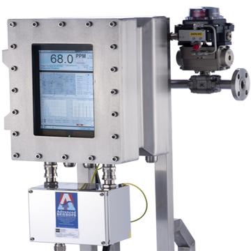 Analisador on-line de óleos em água EX-100M/ 1000M