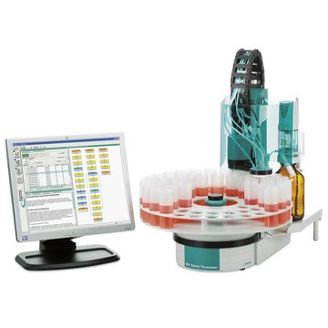 Robotic Acid Base Analyser