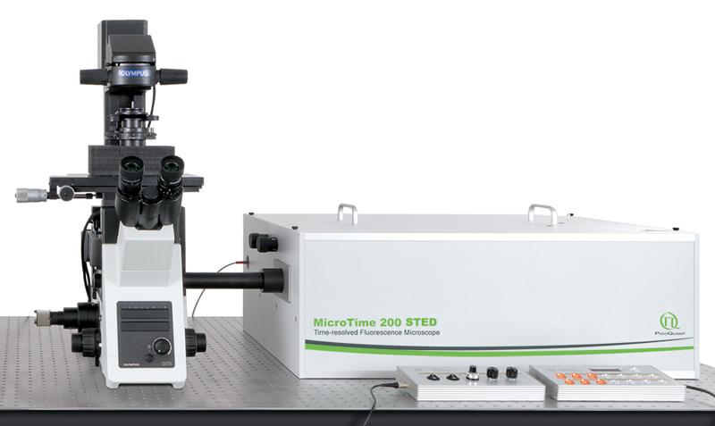 MICROTIME 200 STED - MICROSCÓPIO DE FLUORESCÊNCIA CONFOCAL