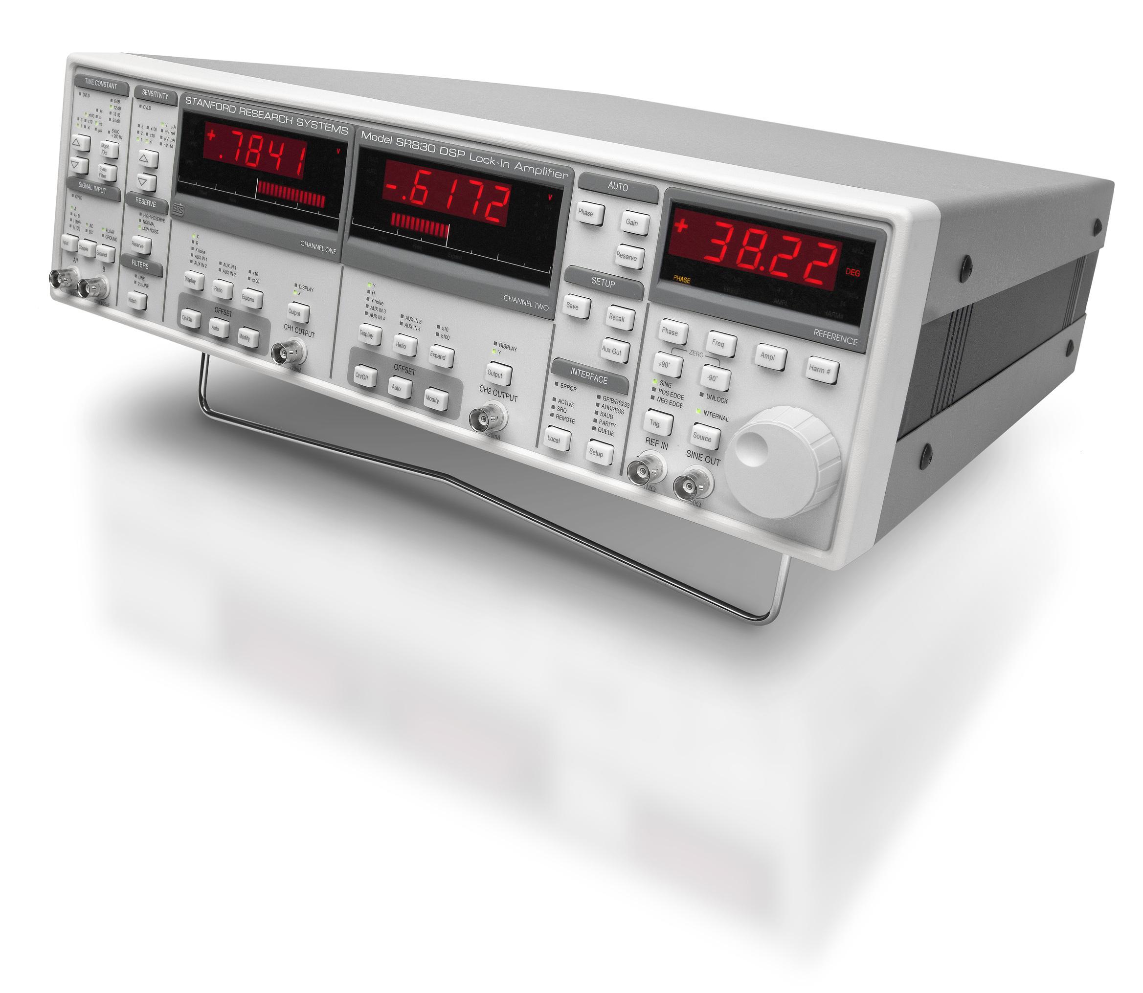 SR810 E SR830 - AMPLIFICADORES LOCK-IN DSP DE 100 KHZ